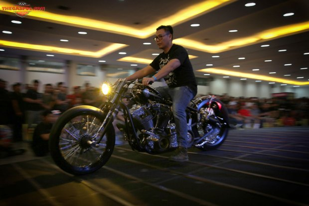 Modifikasi Harley-Davidson Kustomfest 2015