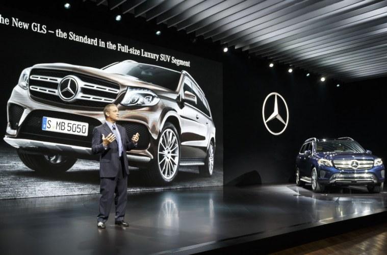 Mercedes-Benz auf der Los Angeles Auto Show (LAAS) 2015Mercedes-Benz at the Los Angeles Auto Show (LAAS) 2015