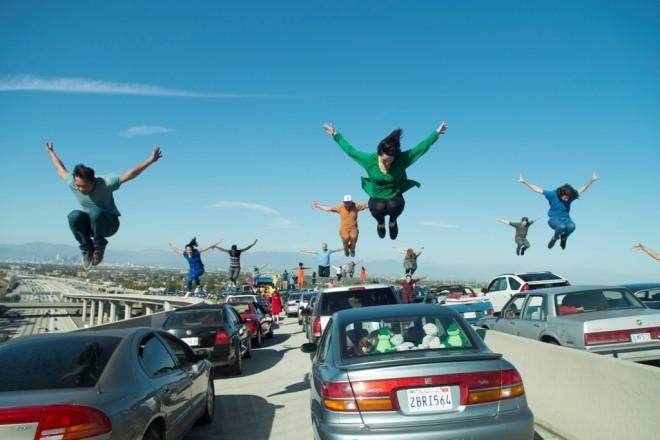 """Mobil jadi elemen penting di """"La La Land""""."""