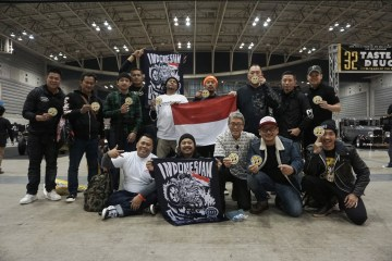 Kustumfest Indonesian Attack di Yokohama Hot Rod Custom Show 2017