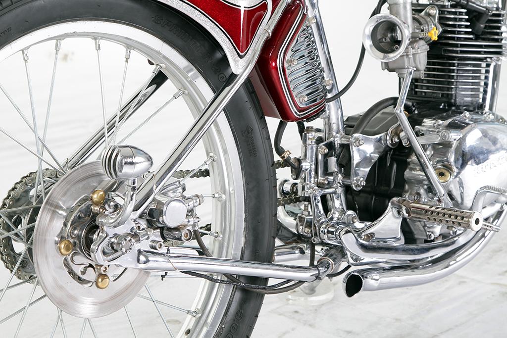 Motor Custom Honda CB 100 Suryanation Motorland