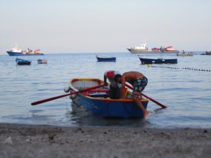 Anchovy boat!