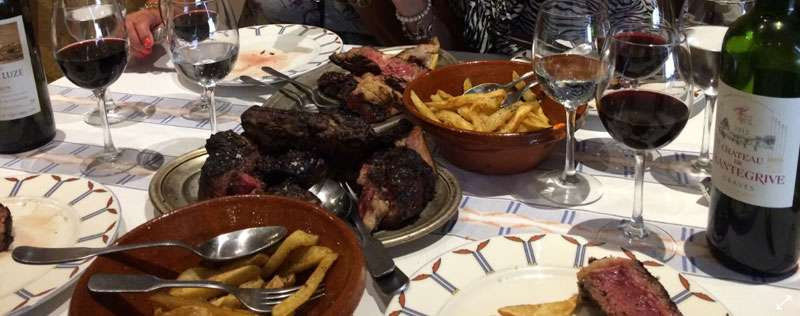 We ordered nearly 3kg of steak
