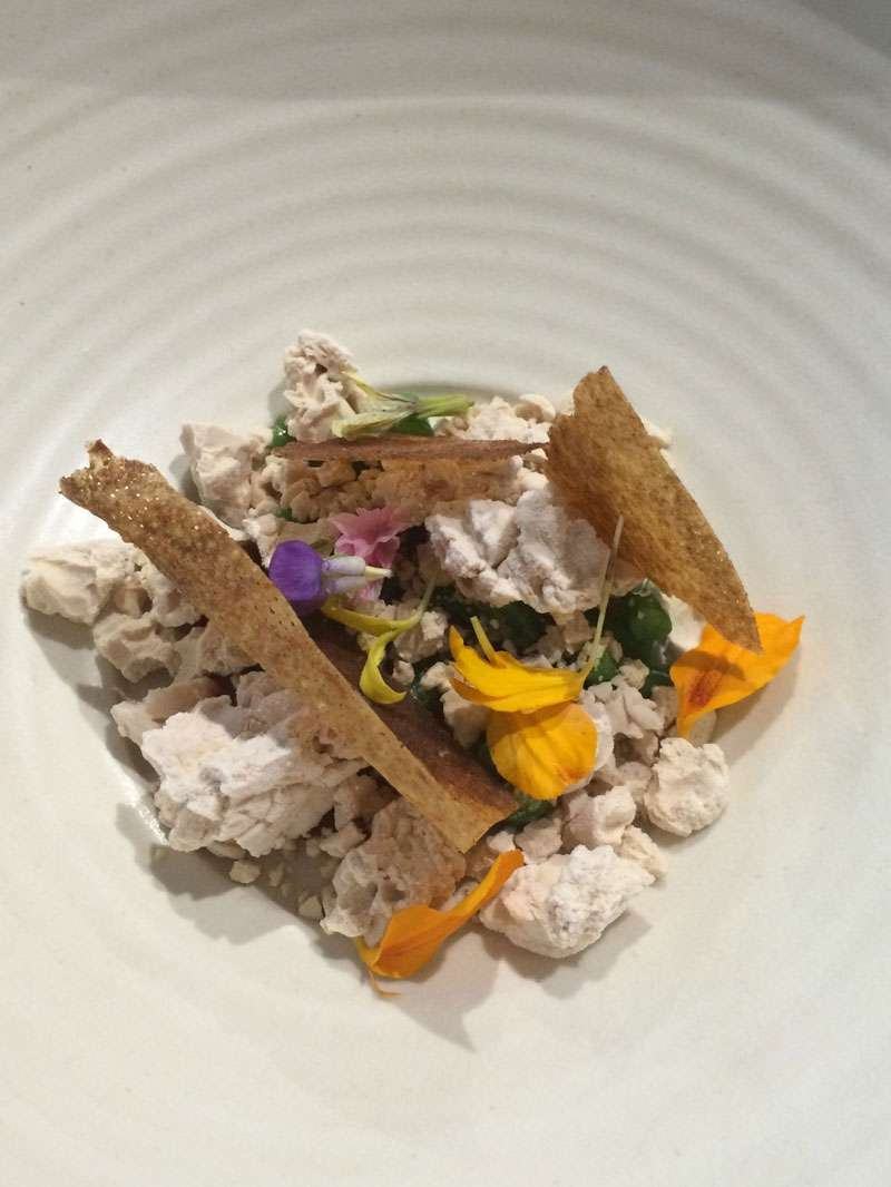 Chicken – pate, toast and chutney