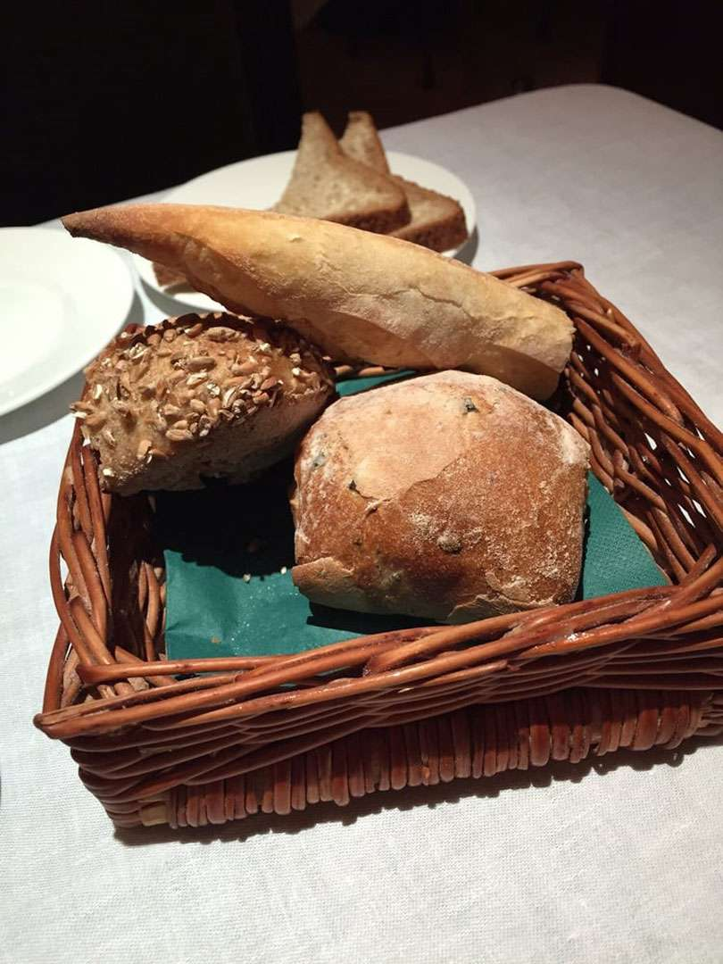 There is an excellent selection of fresh breads