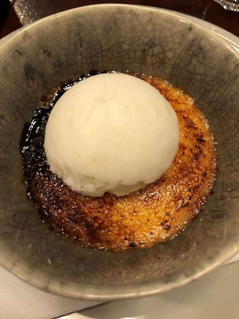 First Dessert
