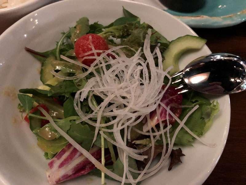 The House salad