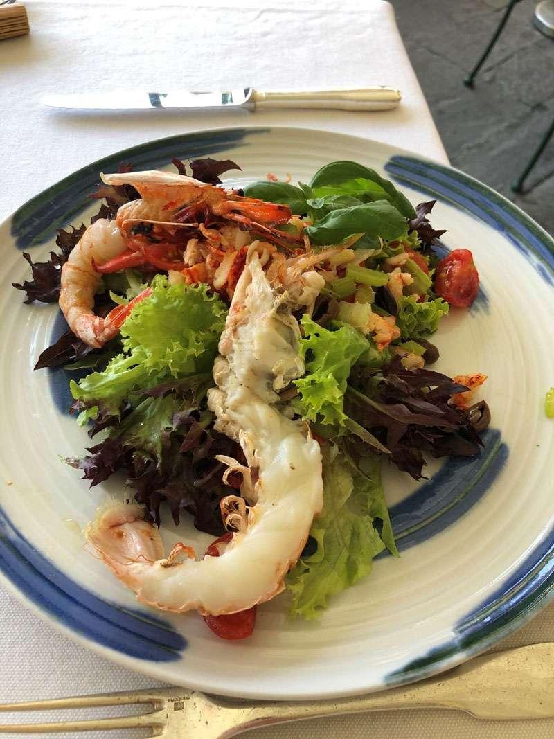 Lobster starter