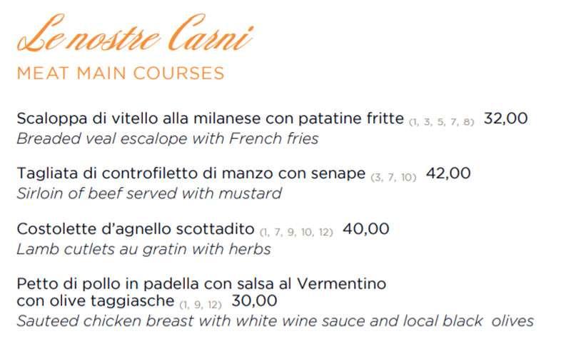 The Gastronome Restaurant Reviews - Belmond Splendido Mare Hotel, Portofino, Italy