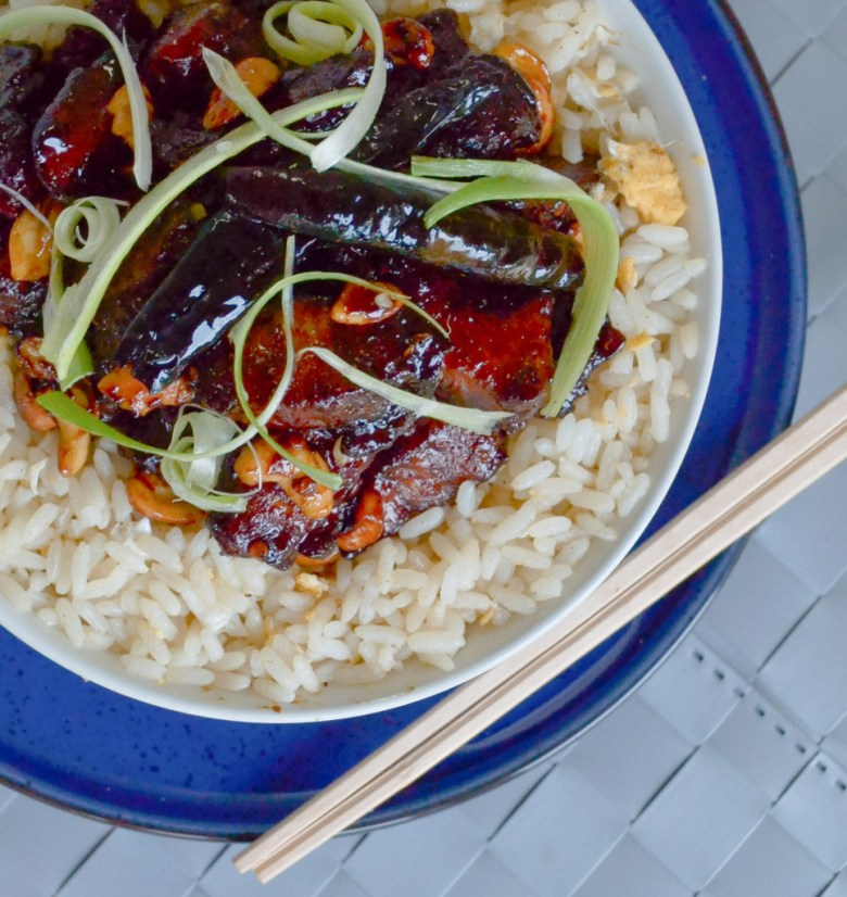 Kung Pao Chicken with Cashewnuts