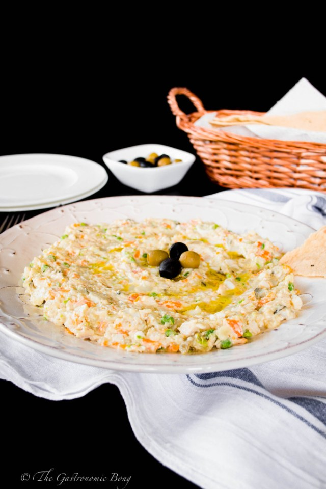 Persian Salad-e-Olivieh with Taftoon Bread6