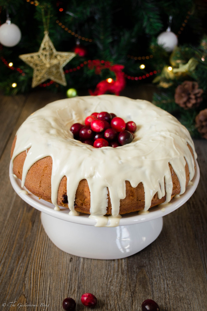 Orange and Cranberry Bundt Cake with White Chocolate Drizzle10