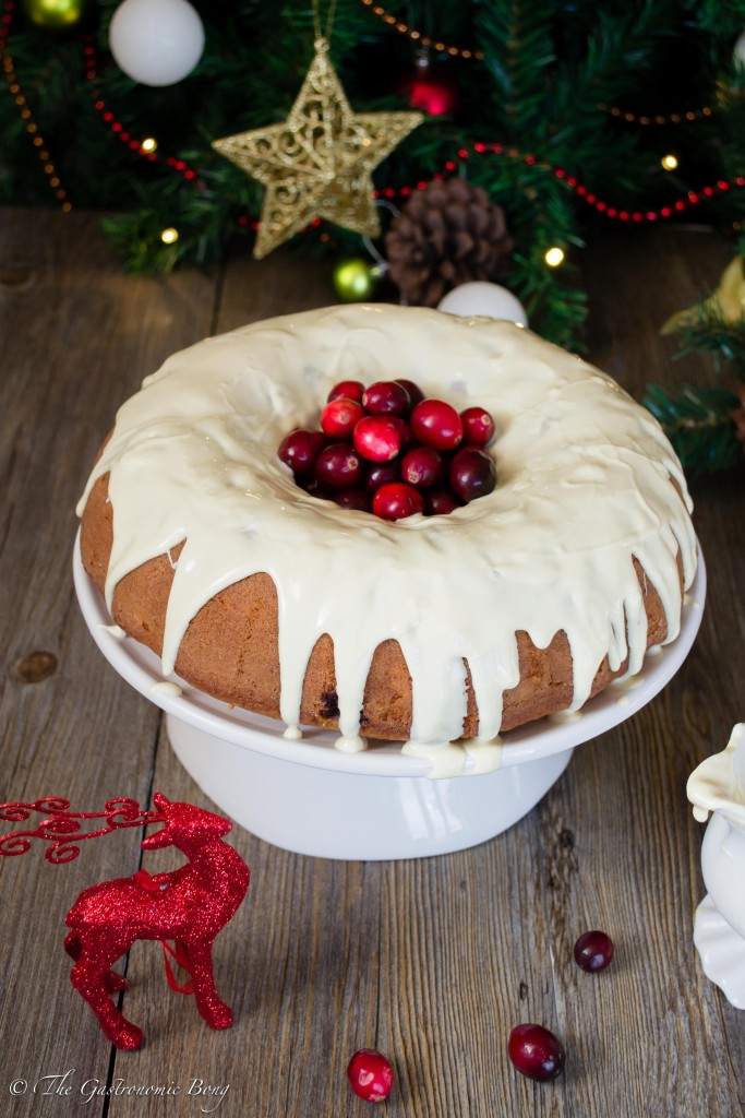 Orange and Cranberry Bundt Cake with White Chocolate Drizzle6