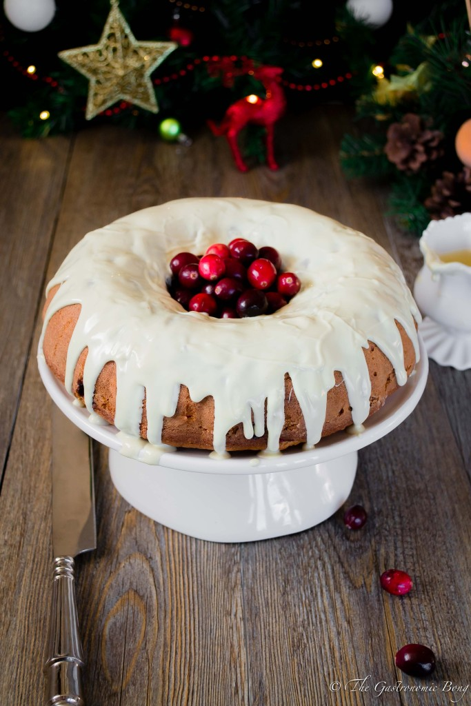 Orange and Cranberry Bundt Cake with White Chocolate Drizzle8