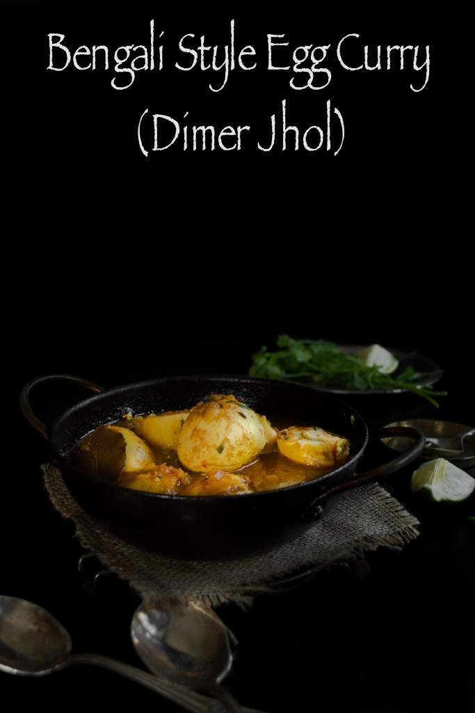 Bengali Style Egg Curry - Dimer Jhol (Dalna)