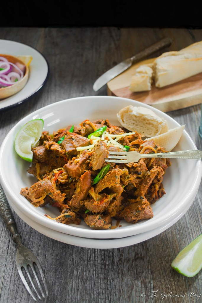 Spicy Lamb/ Mutton Liver - Kaleji Masala