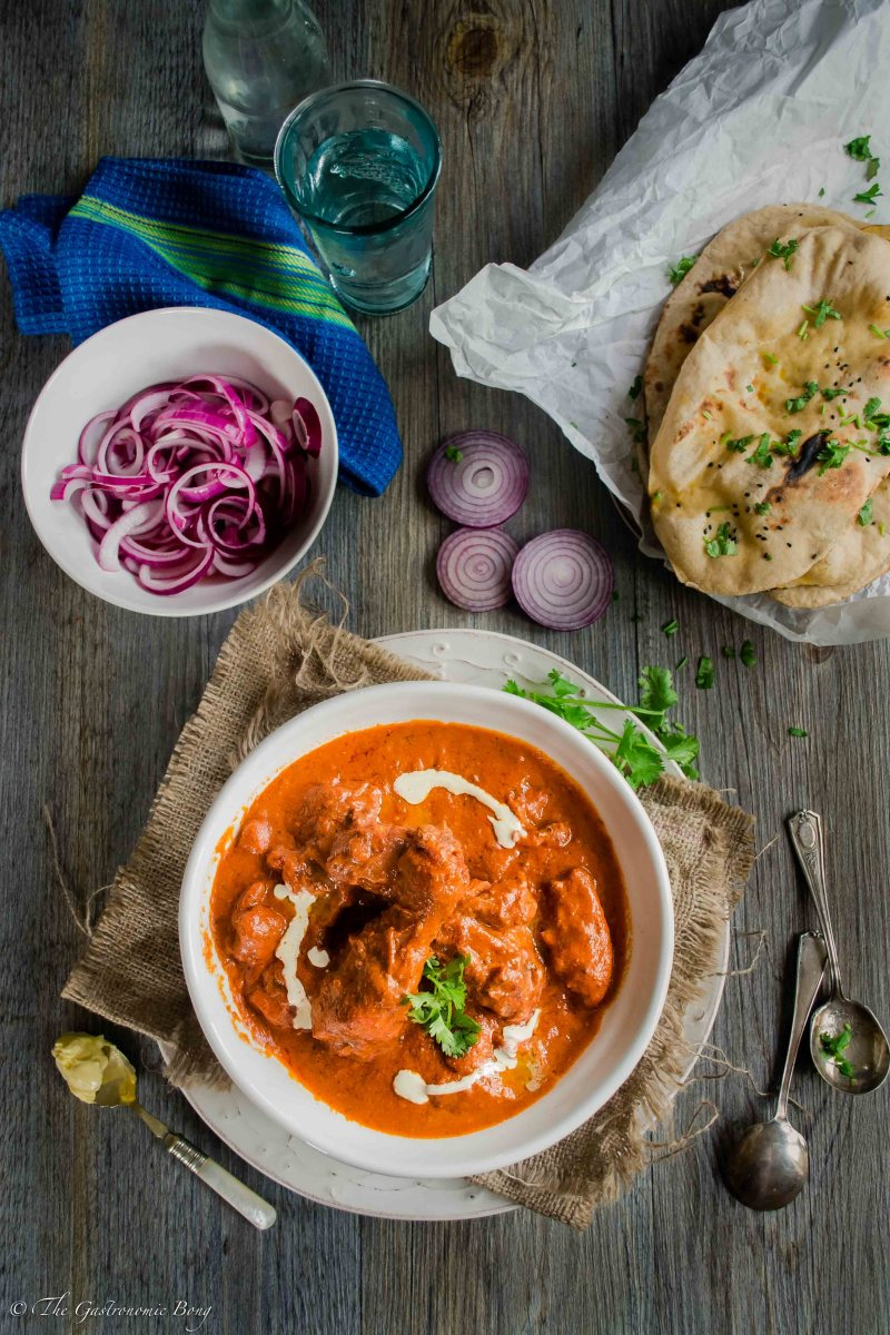 Murgh Makhanwala (Butter Chicken / Murgh Makhani)
