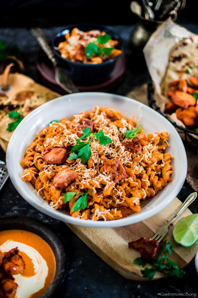 Creamy Butter Chicken Pasta
