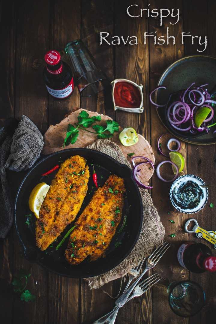 Rava Fish Fry | How to cook Rava Basa Fish Fry