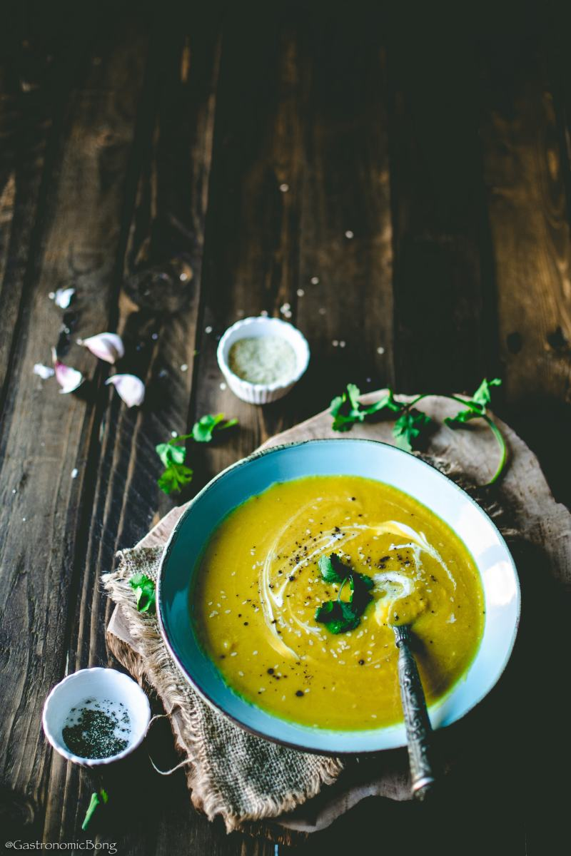 Egyptian Red Lentil Soup (Shorbet Ads Masri)