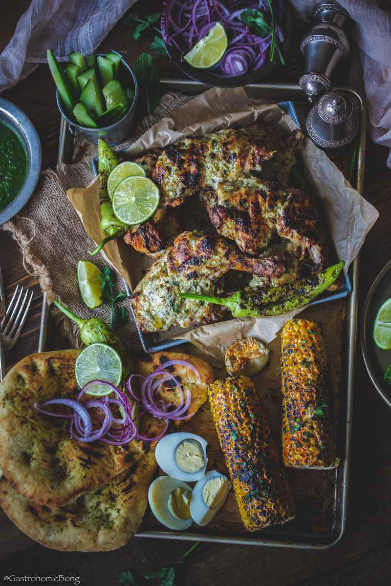 Afghani chicken Tandoori