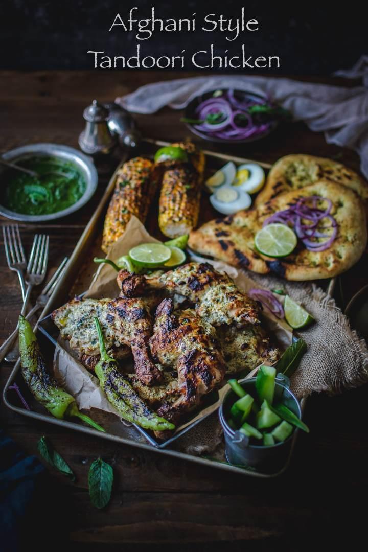 Afghani Style Tandoori Chicken