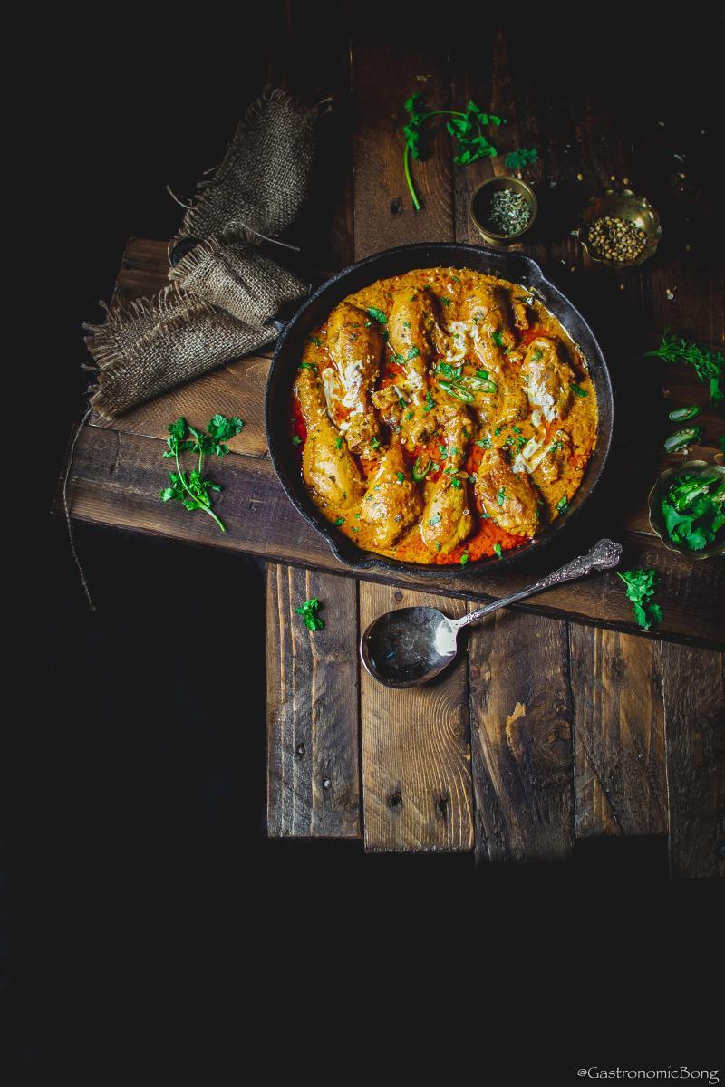 Dhaba style handi chicken