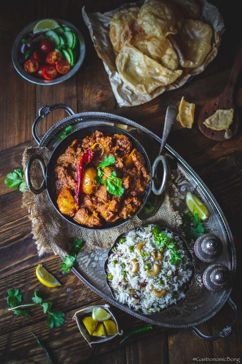 Kosha Mangsho (Bengali Mutton Bhuna)