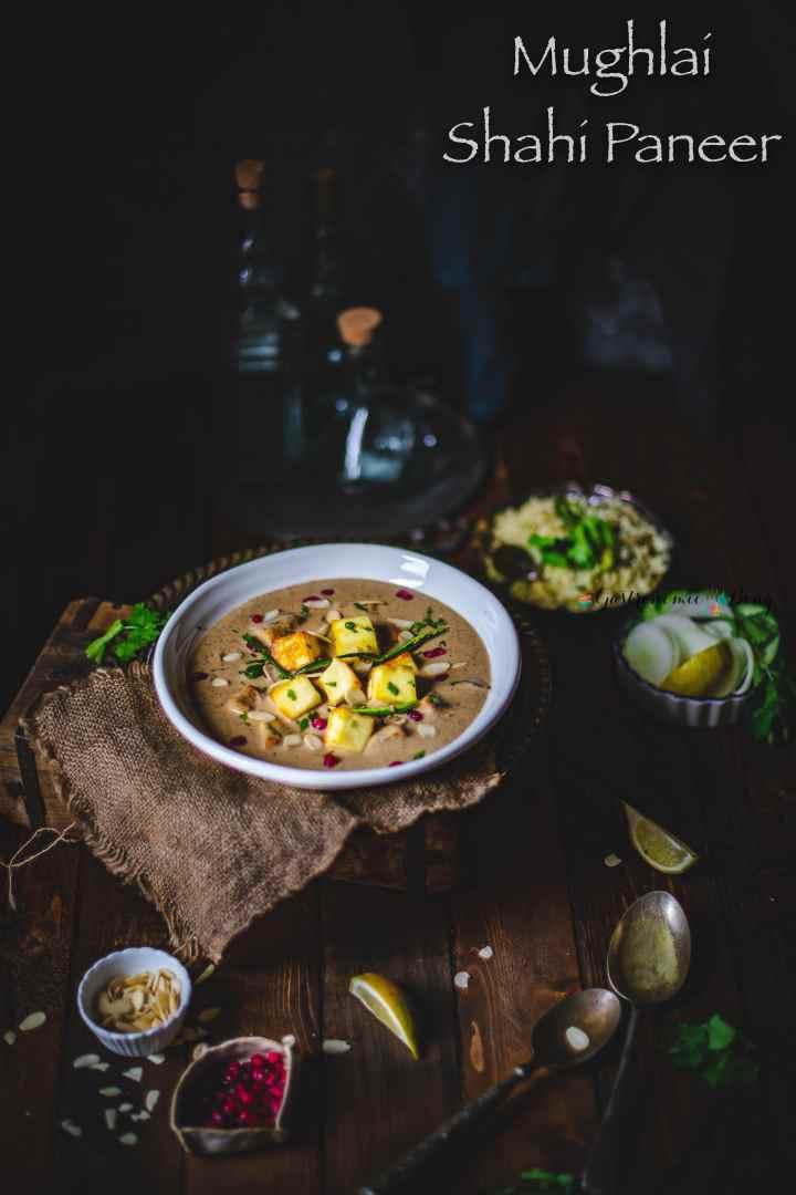 Mughlai Shahi Paneer Recipe