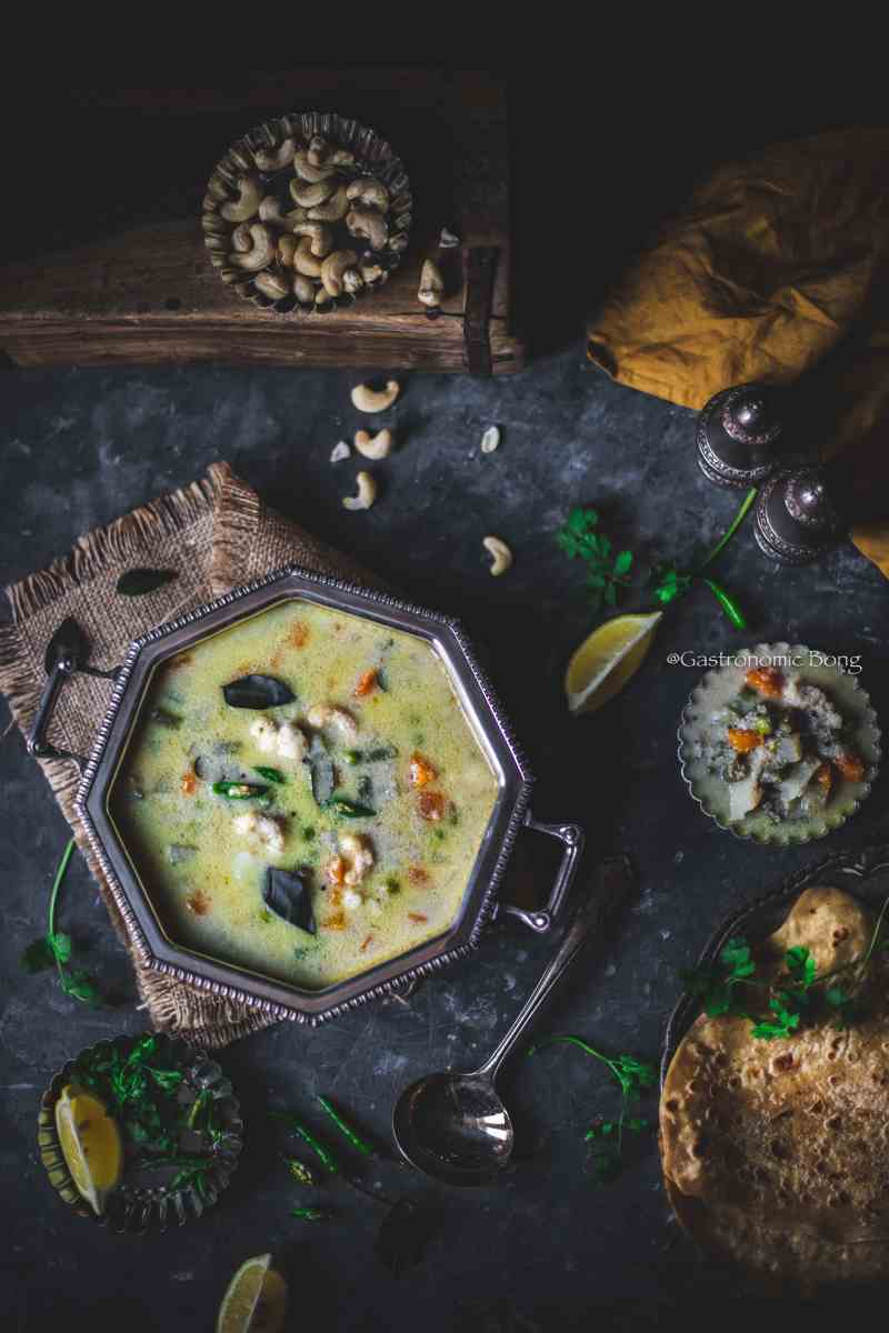 Chettinad Vellai Kurma - Vegetable Korma
