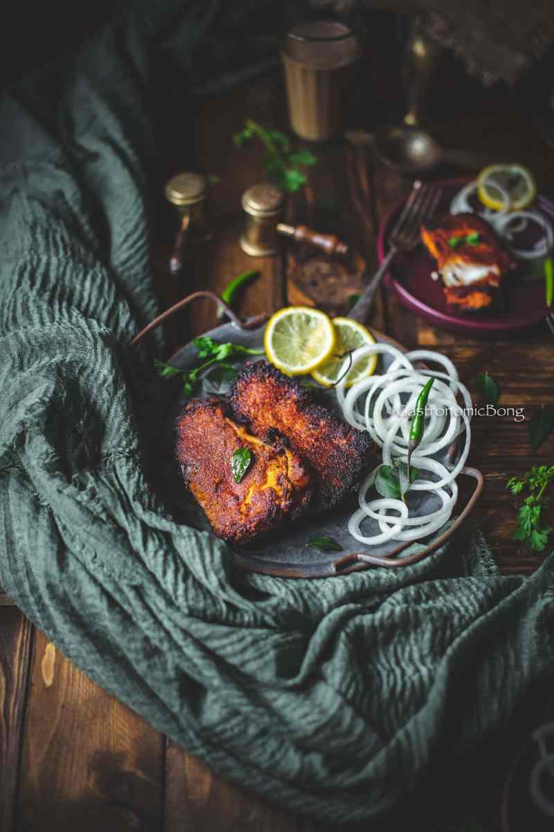 Chettinad Fish Fry Recipe
