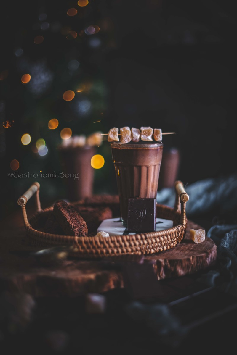 Ginger Spiced Hot Chocolate recipe
