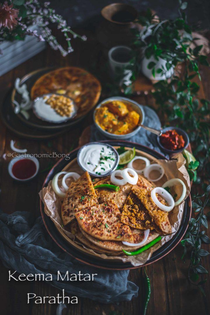 Keema Matar Paratha | Lamb Mince Flatbread