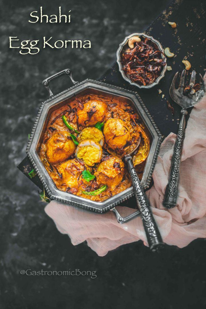 Shahi Duck Egg Korma Recipe