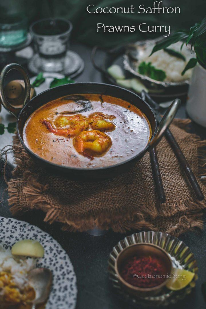 Zafrani Prawns Curry