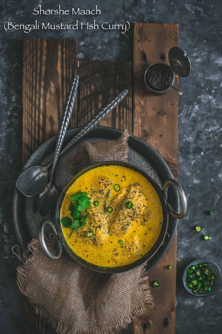 Shorshe Maach (Bengali Mustard Fish Curry)