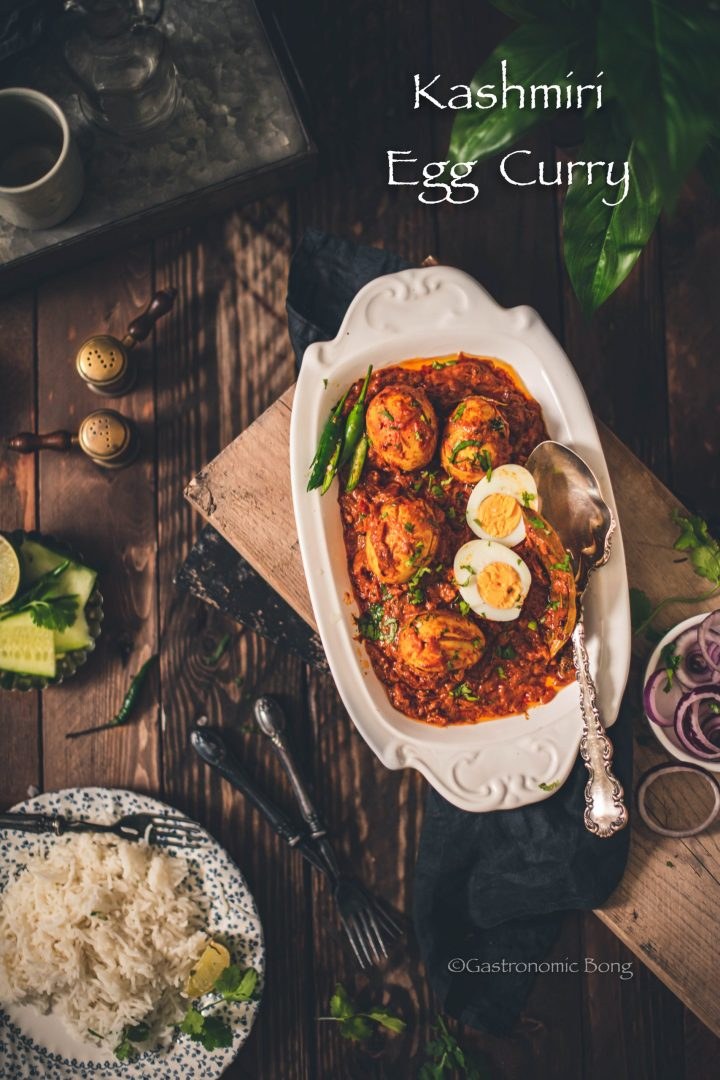 Kashmiri Egg Curry (Egg Rogan Josh)