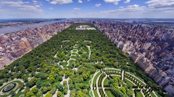 Surviving Rejected Design Of Central Park In York - Gatethe Gate