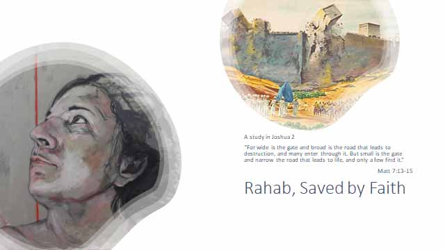 Rahab, Saved by Faith