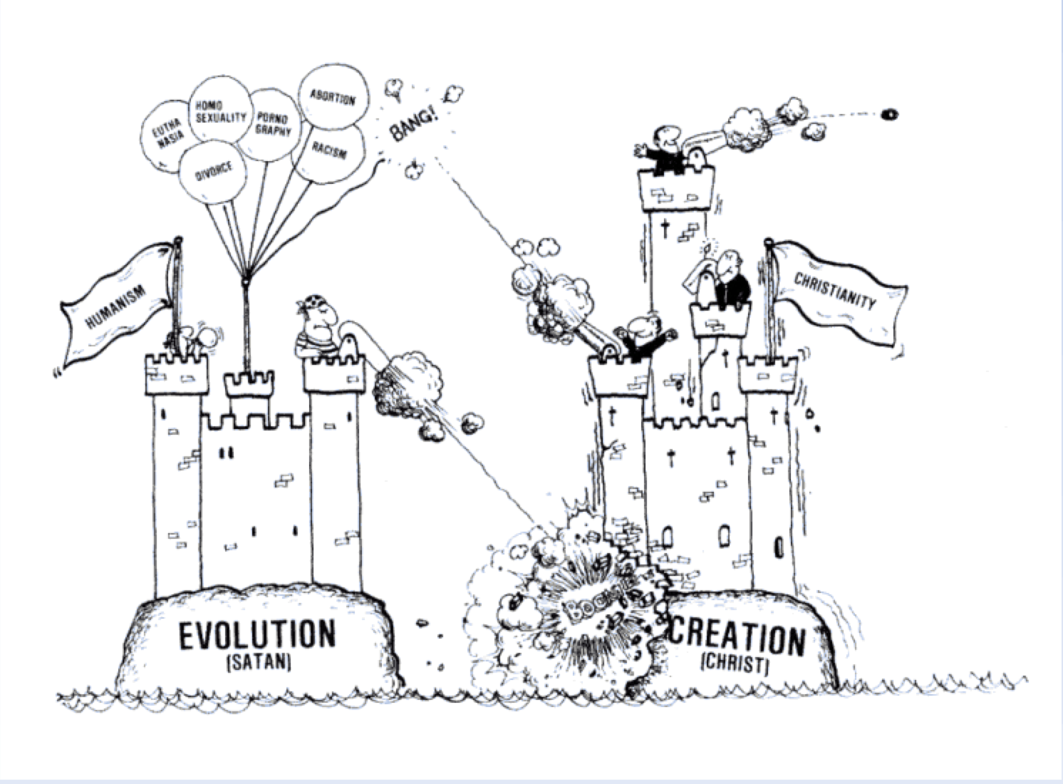 Atlanta students angered by cartoon depicting evolution as