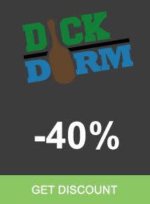 Save 40% Dick Dorm