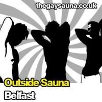 Outside Sauna - Belfast