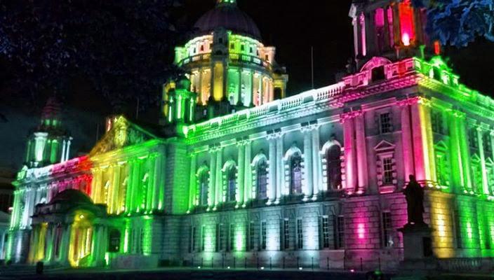 Gay Pride Belfast City Hall