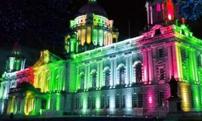 Gay Pride Belfast City Hall
