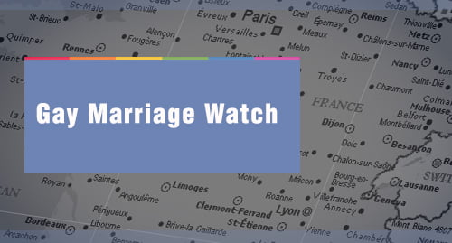 Statistics have revealed that Paris is becoming a hub for same-sex weddings in France.
