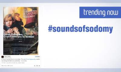 #SoundsofSodomy trending on twitter as anti-gay group hands out leaflets in Dublin