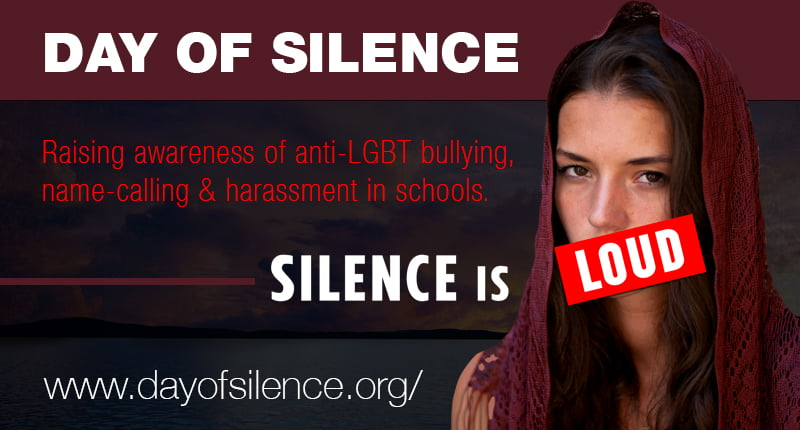 glsen day of silence 2015 featured