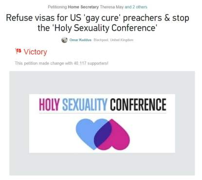 refuse visas for american gay cure therapists