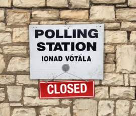 polling station closed ireland marriage referendum