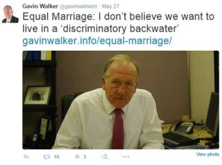gavin walker equal marriage tweet